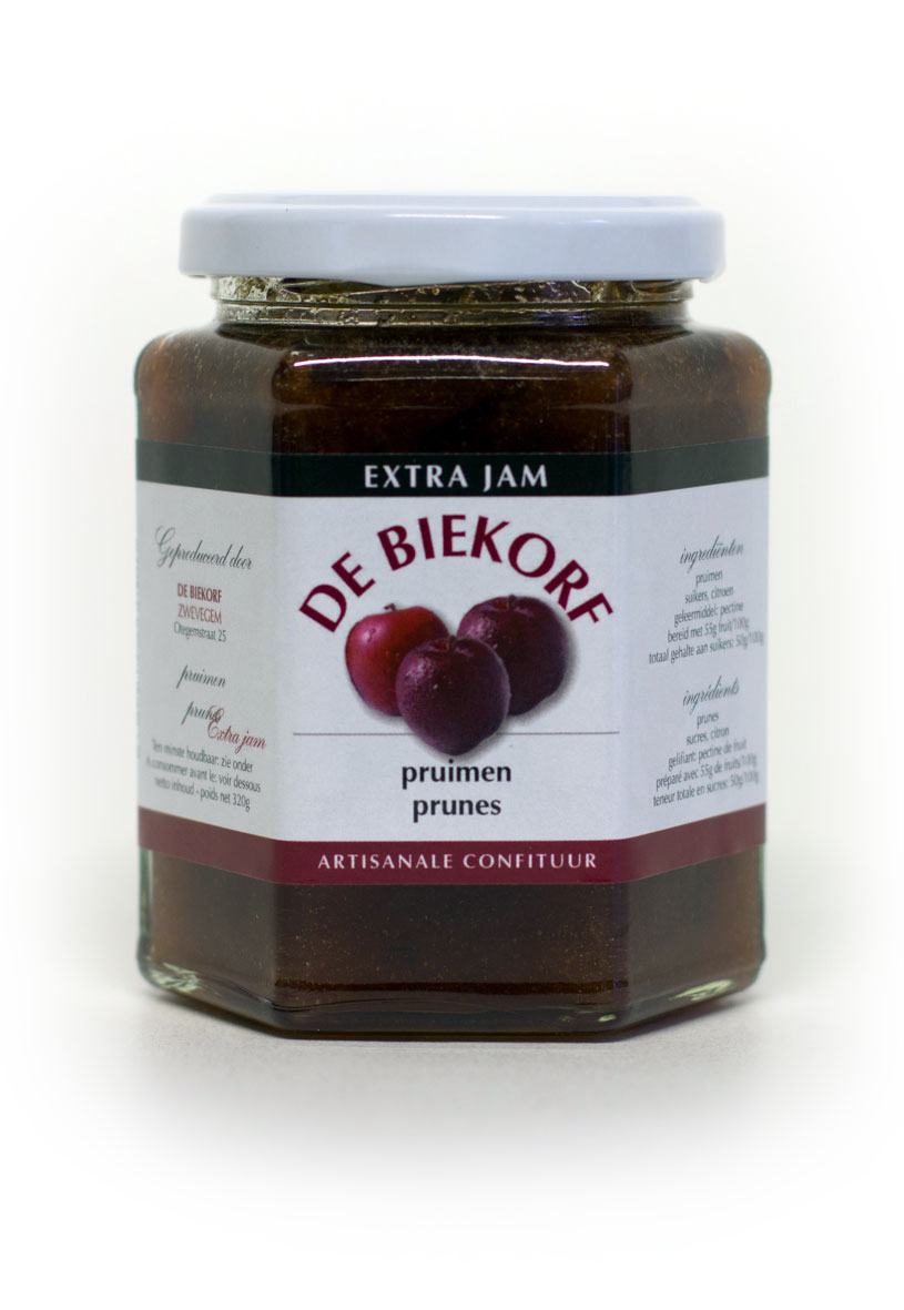 De Biekorf - Extra jam - Pruimen